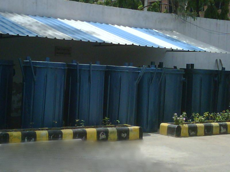 BIO TOILET FOR HIGH ALTITUDE AREA