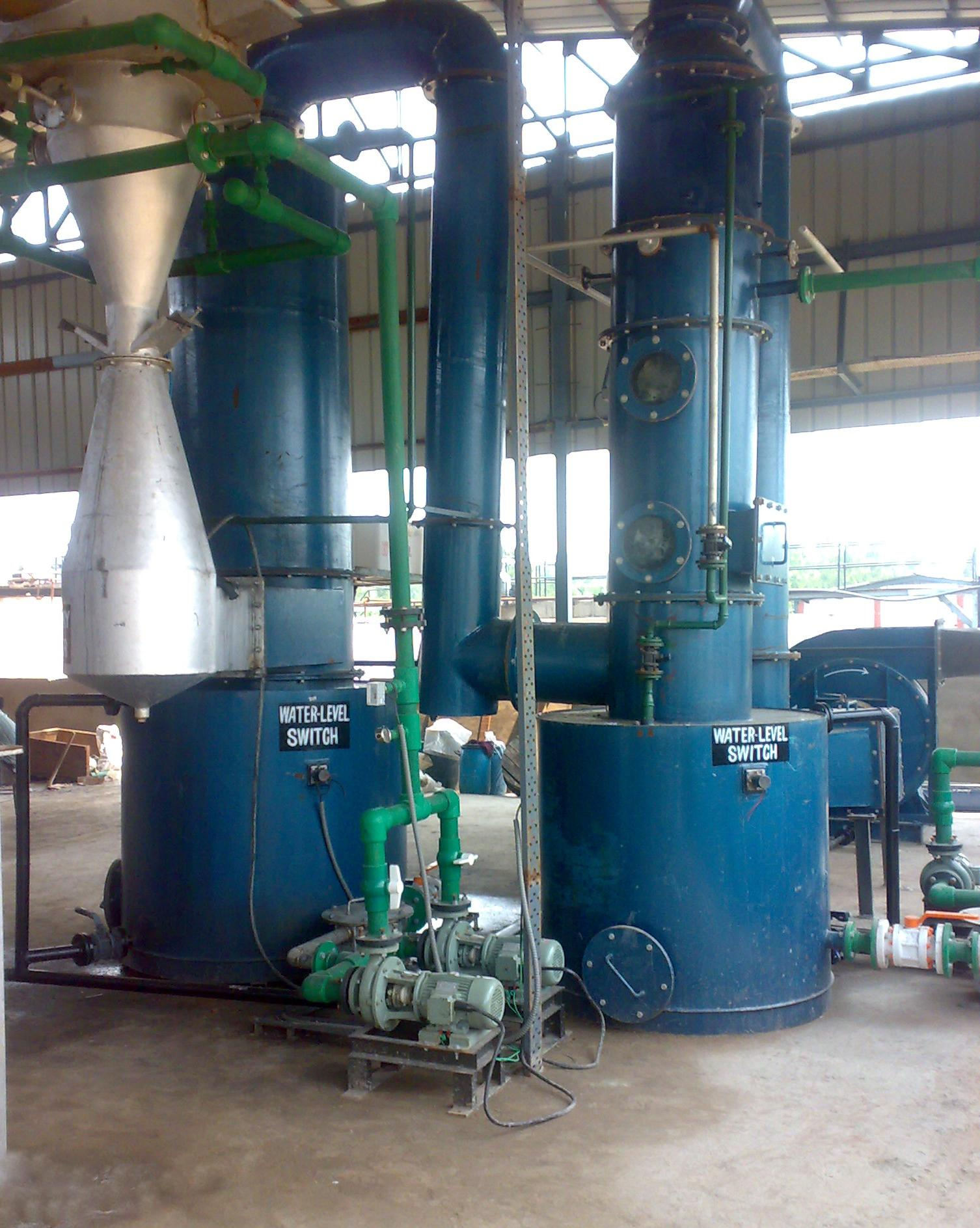 Industrial Wet Scrubber Manufacturers In India